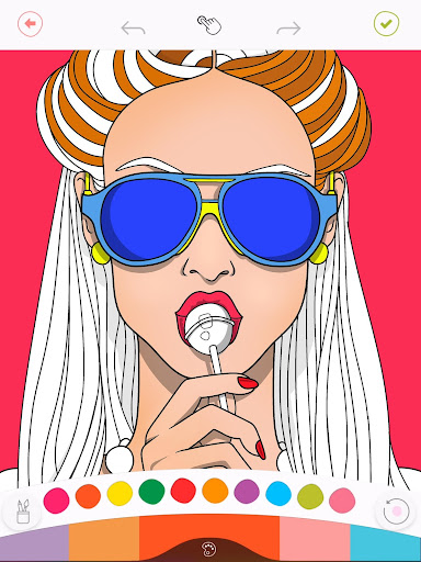 Colorfy: Free Coloring Games - Paint Color Book screenshot 2