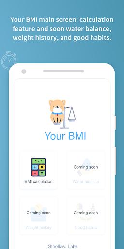 Your BMI Calculator: Body Mass screenshot 3