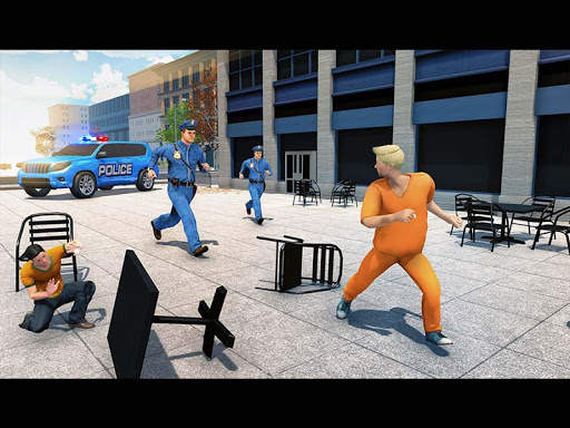 US Police ATV Quad Bike Hummer: Police Chase Games screenshot 10