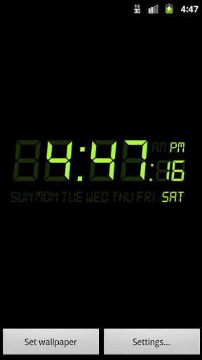 Alarm Clock Wallpaper screenshot 1