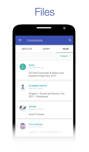 CAclubindia- Tax and Query App screenshot 4