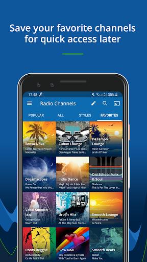 RadioTunes: Hits, Jazz, 80s, Relaxing Music 5 تصوير الشاشة