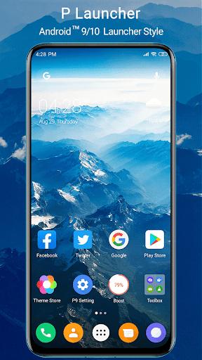 P Launcher 2021 new 👍 screenshot 1