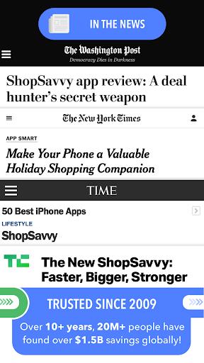 ShopSavvy - Barcode Scanner & QR Code Reader 7 تصوير الشاشة