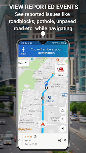 MapmyIndia Move: Maps, Navigation & Tracking скриншот 7