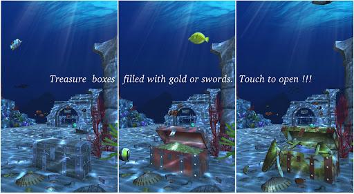 Live Wallpaper - 3D Ocean : World Under The Sea screenshot 5