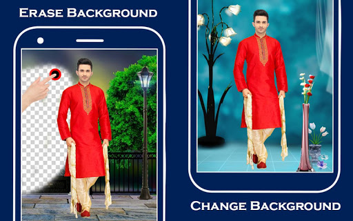 Men Sherwani Suit Photo Editor screenshot 2