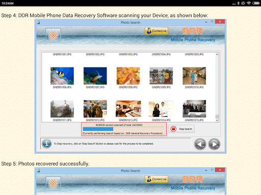 Mobile Phone Data Recovery DOC screenshot 9