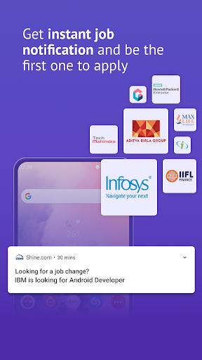 Shine.com: Job Search App | Latest Jobs, Vacancies screenshot 1