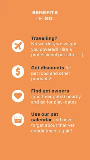 GoApp.pet - Pet community for pet lovers 8 تصوير الشاشة