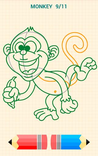 How to Draw Animals 6 تصوير الشاشة
