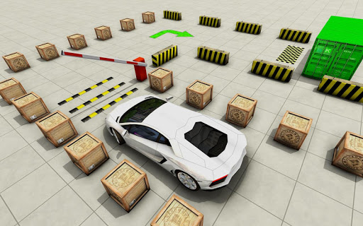 Modern Car Parking Free Games 3D – New Car Games скриншот 3