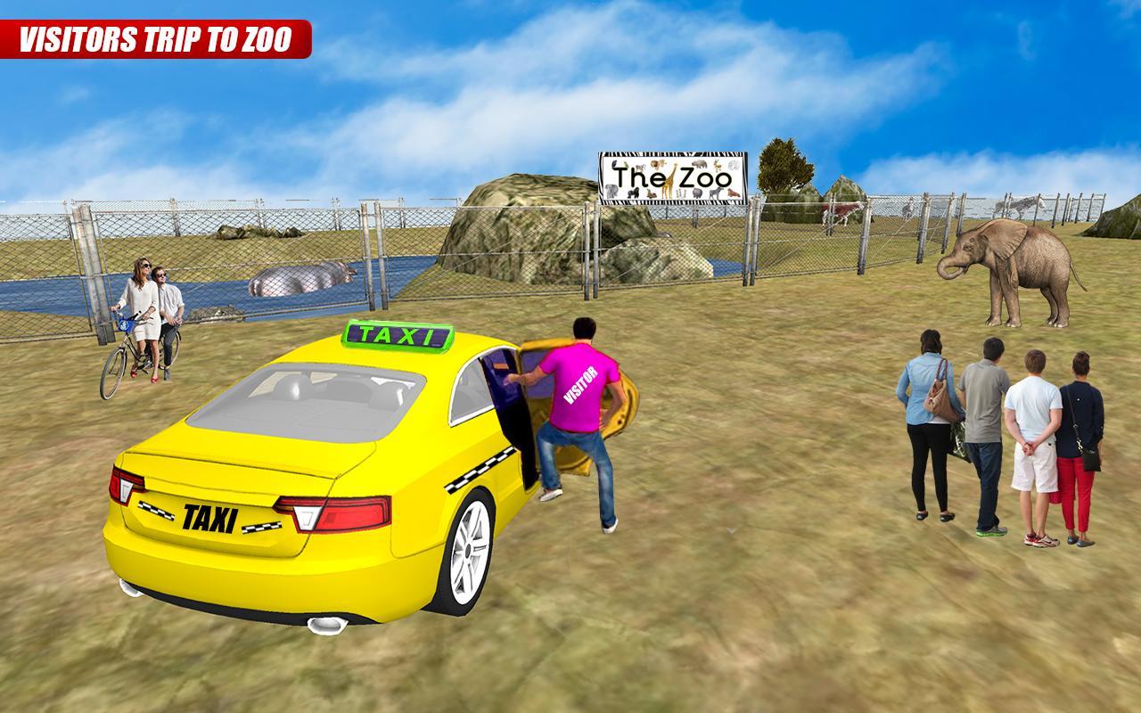 Taxi Mania: Road Runners 3D 1 تصوير الشاشة