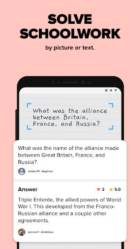 Brainly – Home Learning & Homework Help 4 تصوير الشاشة