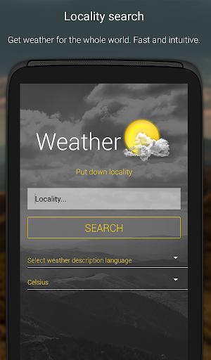 الطقس لمدة 16 يوما 6 تصوير الشاشة
