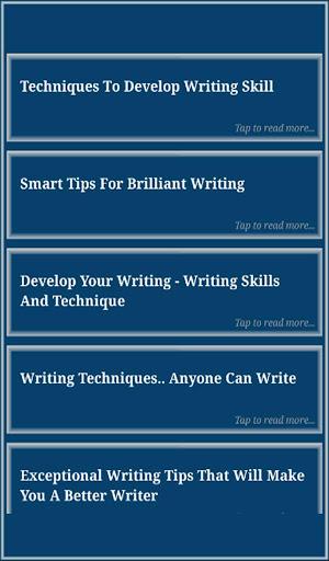 Writing Skills screenshot 8