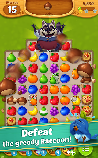 Fruits Mania : Fairy rescue 2 تصوير الشاشة