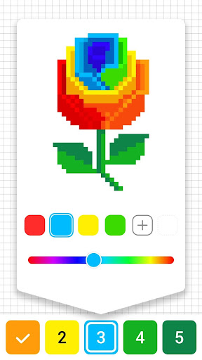 Draw.ly - Color by Number Pixel Art Magic Coloring screenshot 3