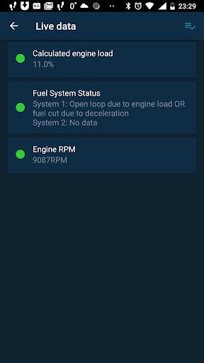 Obd Mary – OBD2 car scanner & dashboard on ELM327 screenshot 6