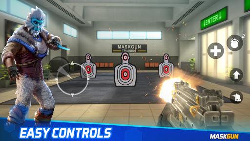 MaskGun Multiplayer FPS - Shooting Gun Games screenshot 6