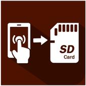 Mobile To SD card Mover icon