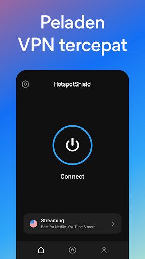 Hotspot Shield Gratis VPN Proxy & Keamanan WiFi screenshot 2
