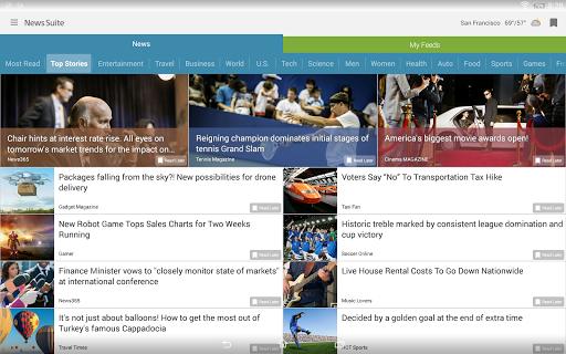 News Suite by Sony 5 تصوير الشاشة