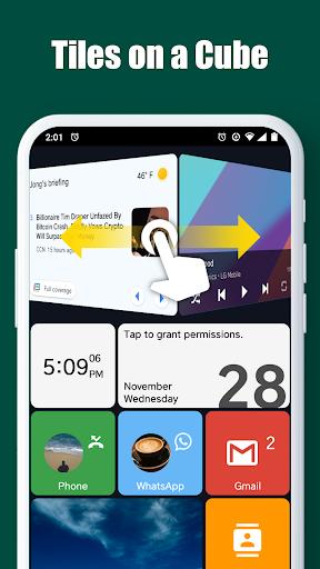 Square Home - Launcher : Windows style 4 تصوير الشاشة