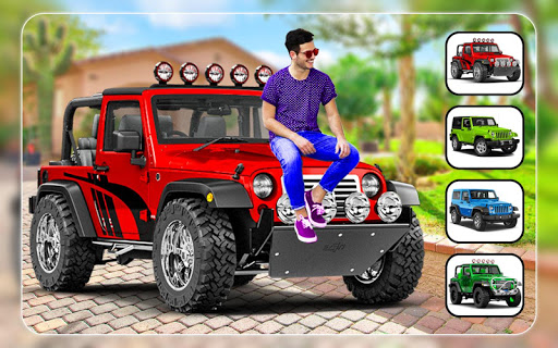 New Jeep Photo Editor - Photo Frames 2 تصوير الشاشة