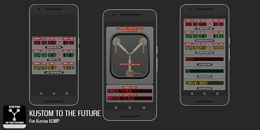 Kustom to the Future for KLWP screenshot 1