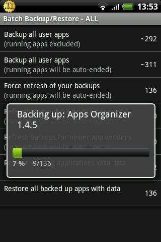 Titanium Backup ★ root needed screenshot 3