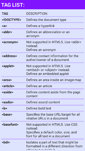 HTML শিখুন 8 تصوير الشاشة
