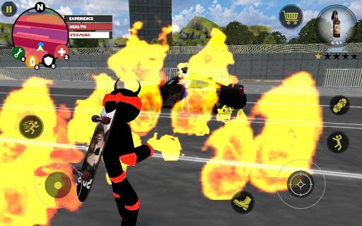 Stickman Rope Hero screenshot 2