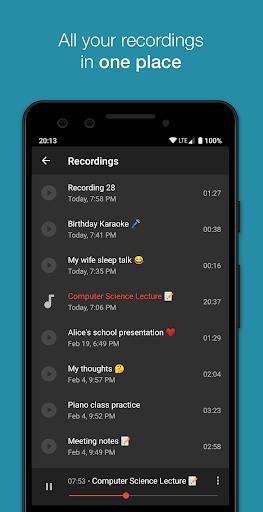 Smart Recorder – High-quality voice recorder screenshot 6