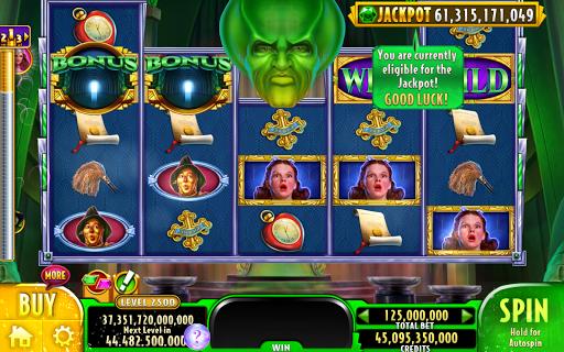 Wizard of OZ Free Slots Casino Games 18 تصوير الشاشة