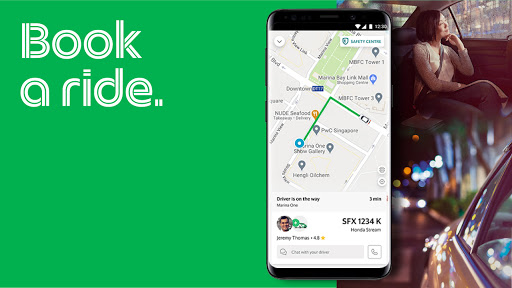 Grab - Transport, Food Delivery, Payments скриншот 6