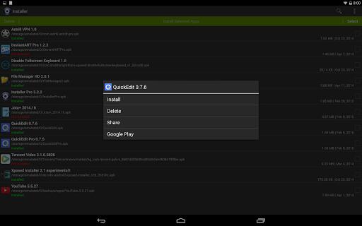 Installer - Install APK screenshot 9