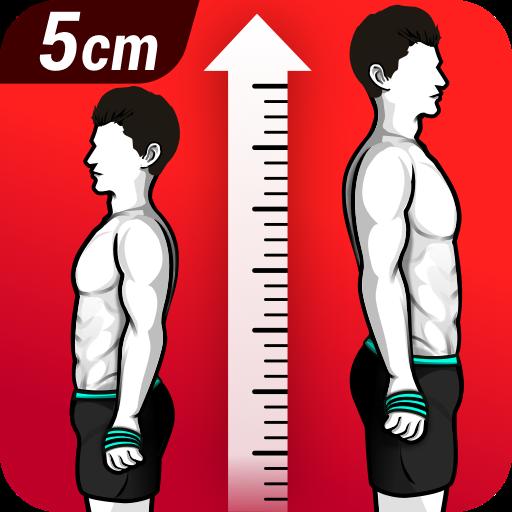 ikon Latihan Peninggi Badan - Meningkatkan Tinggi Badan