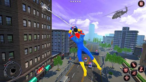 Rope Amazing Hero Crime City Simulator screenshot 1