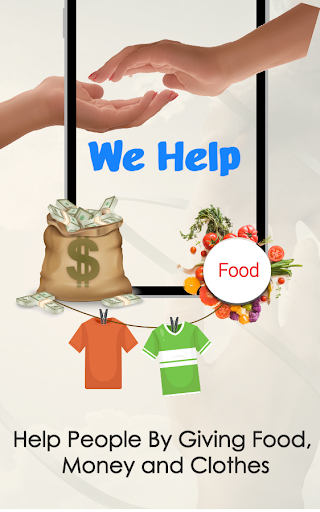 We Help – Community For Needy People 5 تصوير الشاشة