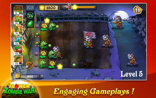 Flower Zombie War screenshot 2