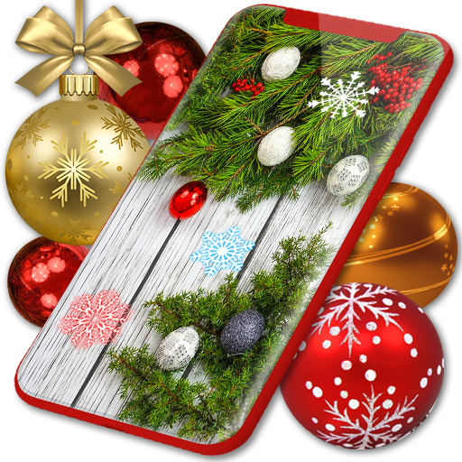 Christmas Wallpapers 🎅 Xmas Tree Live Wallpaper icon
