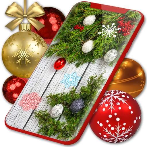 Christmas Wallpapers 🎅 Xmas Tree Live Wallpaper