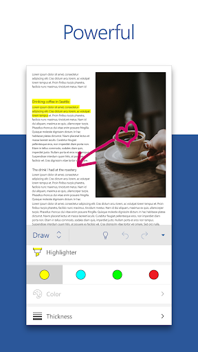 Microsoft Word: Write, Edit & Share Docs on the Go 2 تصوير الشاشة