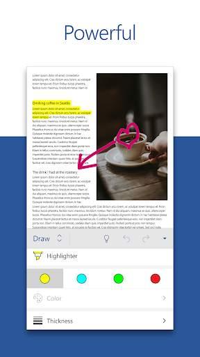 Microsoft Word: Write, Edit & Share Docs on the Go screenshot 2