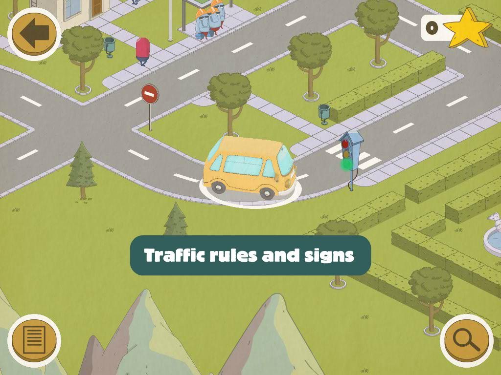 Busy Wheels: City Bus screenshot 14