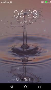 Water Drop - Lock Screen Pro screenshot 7