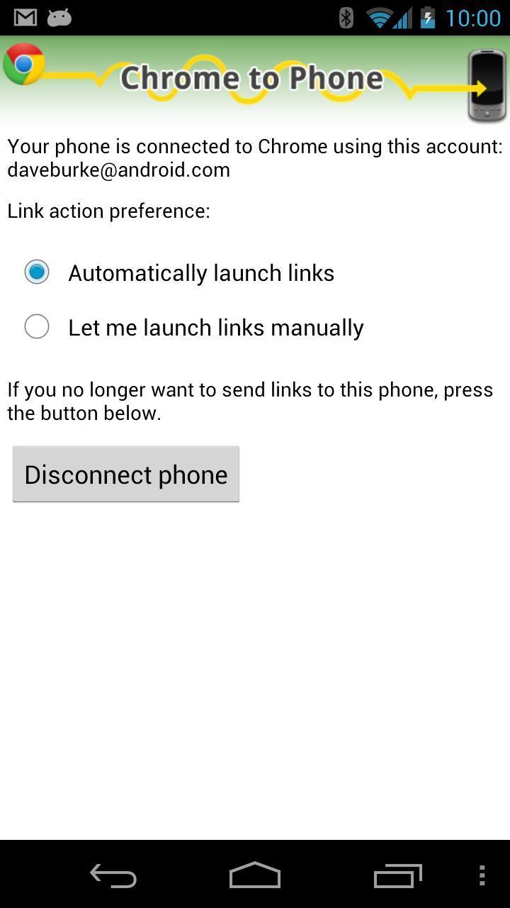 [DEPRECATED] Chrome to Phone screenshot 2