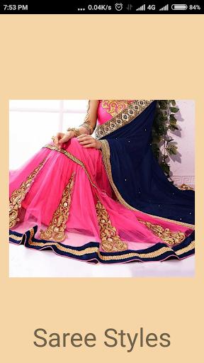 Saree Wearing Style Videos screenshot 1