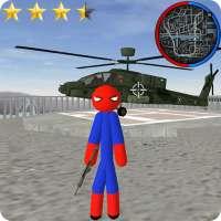 Stickman Spider Rope Hero Gangstar City on APKTom